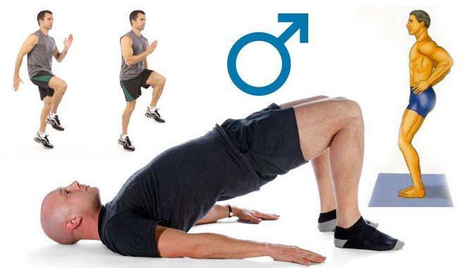 7 упражнений для повышения потенции