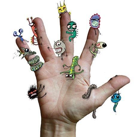 Микробы и инфекция на руках