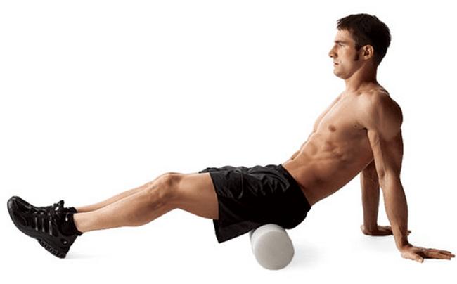 Упражнение с валиком для лечения простаты
