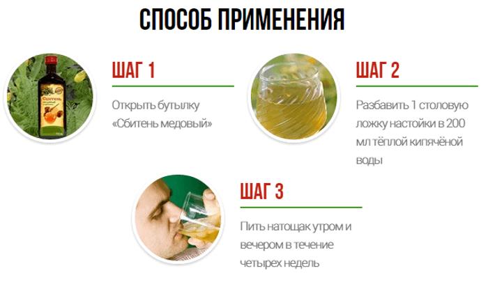 Способ применения медового сбитня от простатита
