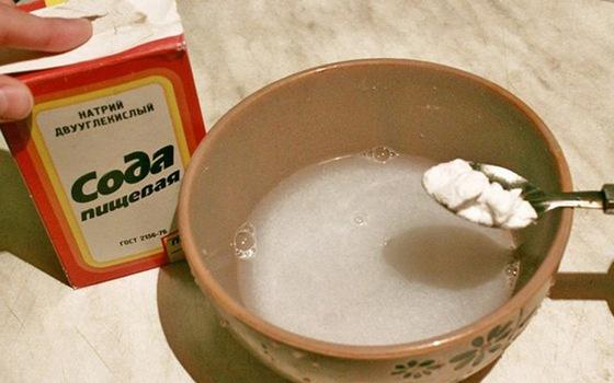 Приготовление содового раствора