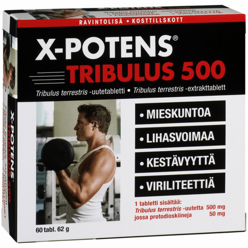 """Финские витамины """"X-potens Tribulus 500"""""""