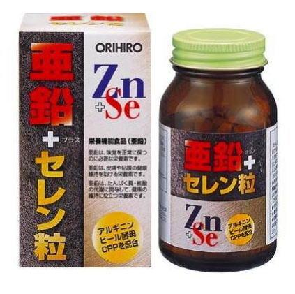 Витамины с селеном и цинком от Orihiro