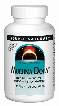 Mucuna Dopa от Source Naturals
