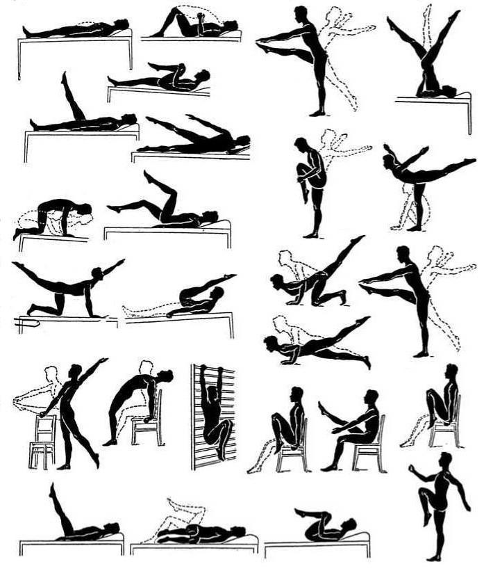 Различные варианты упражнения для профилактики простатита