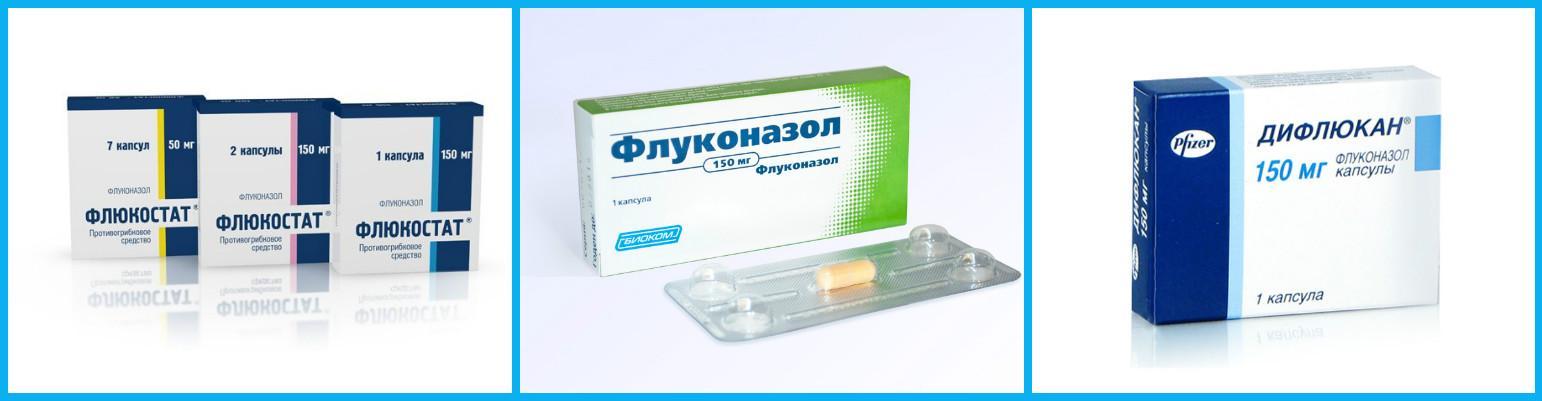 Противогрибковые препараты на основе флуконазола