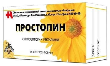 """Суппозитории """"Простопин"""""""