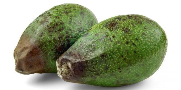 Испорченное авокадо