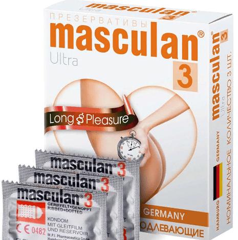 Masculan Ultra Long Pleasure