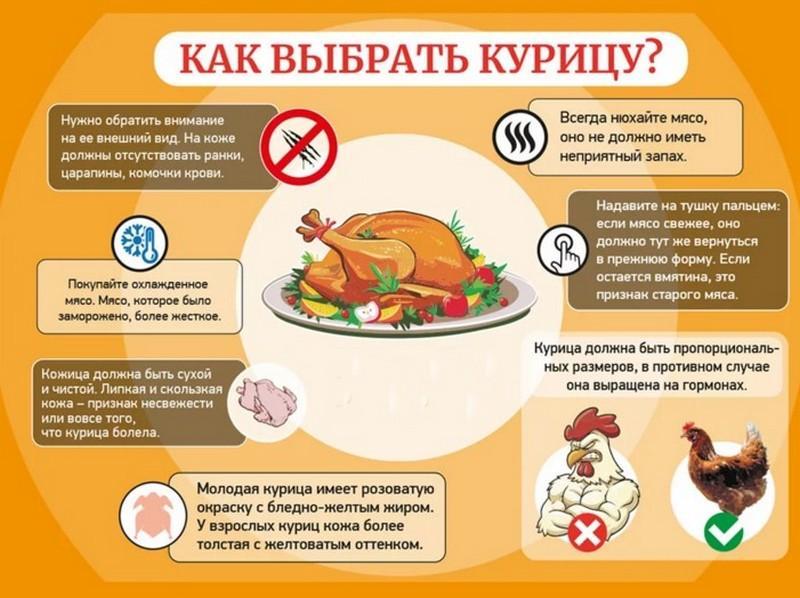 Как выбрать курицу